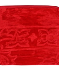 Kritarth handicrafts Double Bed Blanket Red