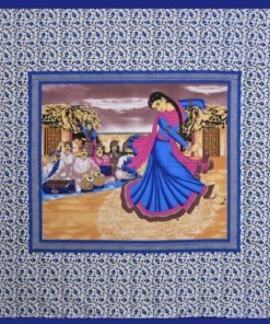 Kritarth Handicrafts Tabla Design Bedsheet