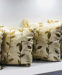 Buy Velvet Cushion Covers Set Of 5